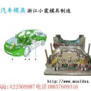 注射模XTS车注塑模具中网塑胶模具图片
