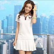 哪里有新款韩版短裙短袖批发零售图片