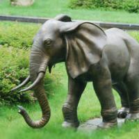 供应广东铜大象雕塑订做厂家