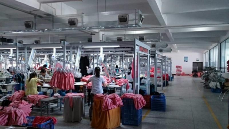 供应服装企业流水线精益生产吊挂系统