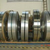 供应409L不锈钢拉伸材料单面覆膜精密分条厚度0.15-3MM