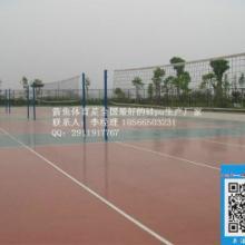 供应河南省新乡市硅pu塑胶球场批发