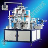 供应圆盘双色平面丝印机/SR2-200HFC 圆盘双色平面丝印机