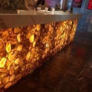 建材装饰材料玛瑙宝石拼接复合板图片