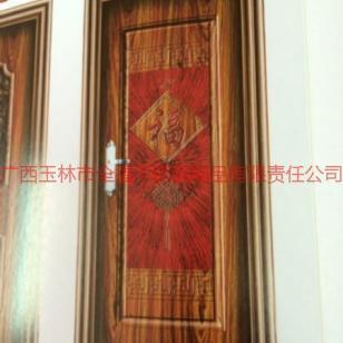 豪华高档铝合金木纹转印室内门图片