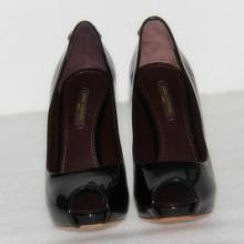 供应全新专柜正品LV高跟真皮鱼嘴女鞋,漆皮鞋,防水台女高跟鞋,鱼嘴单鞋,真皮女鞋,仅1800批发