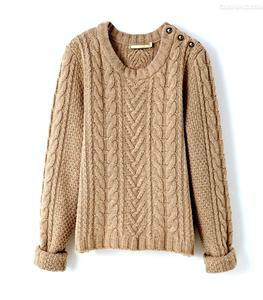 日系针织毛衣图片/日系针织毛衣样板图 (1)