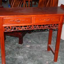 供应翘头案明清红木古典家具鸡翅木供桌神台中式实木仿古条案玄关