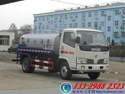 供应东风锐铃4/5方洒水车CLW5073GSS4型