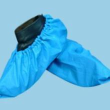供应食品厂一次性鞋套无纺布鞋套加厚耐磨防滑防尘鞋套批发