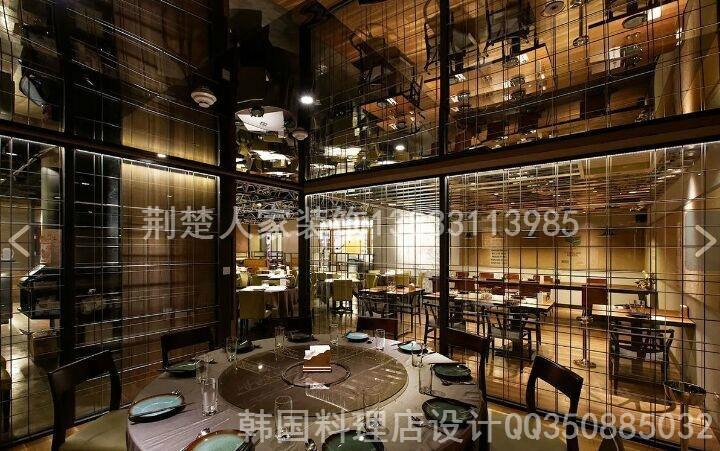 供应用于无配件的专业石家庄韩国料理店装修设