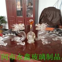 雙龍戲珠工藝酒瓶
