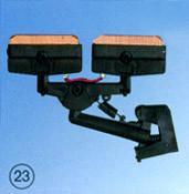 供应C型单杆双头集电器滑触线受电器行车集电器C型单杆双头集电器参数图片