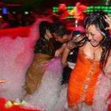 供应租赁彩色泡沫趴 面向全国各地直销派对泡沫机 酒吧吊挂泡沫机