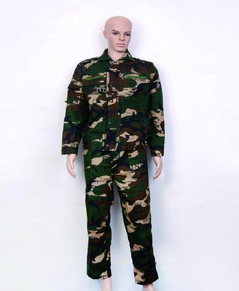 供应军训服装迷彩服 学生迷彩服 学生军训服 迷彩服厂家直销