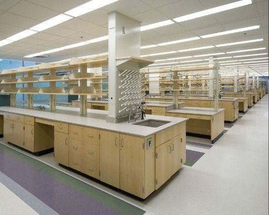 供应全木实芯理化板实验台