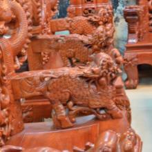 供应东阳红木客厅沙发组合富贵十件套明清古典仿古实木