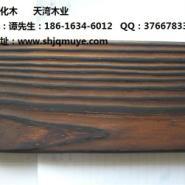 美丽的表面碳化木图片