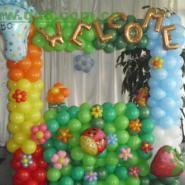 潮州广告气球定做图片