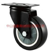 供应TF中型聚氨酯PU万向脚轮-錏鑫嘉镒脚轮图片-TF脚轮价格表-3寸万向轮