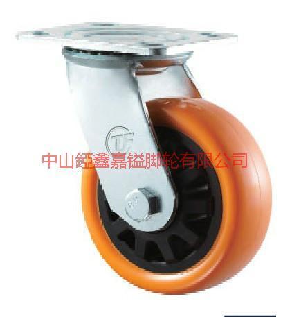 供应TF中重型通花聚氨酯PU万向脚轮-尼龙PA脚轮价格-重型通花脚轮批发