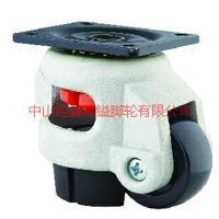供应平板韩式轮孔顶调节轮丝杆韩国脚轮-040-060-080-100韩国调节机械轮
