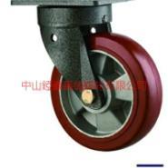 重型弹力轮PU轮静音轮图片