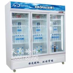 供应便利店展示冰柜便利店三门饮料冰柜