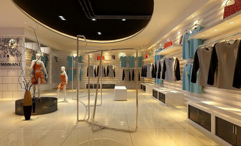 供应服装陈列展示空间设计图片