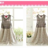 韩版夏天儿童装童裙品牌女装批发图片