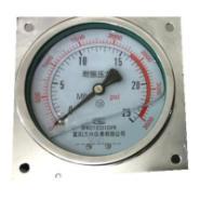 冲油表YN60ZT耐震压力表价格图片