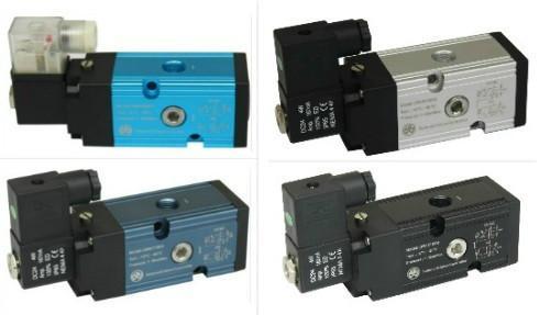 单电控两位五通功能型电磁阀图片