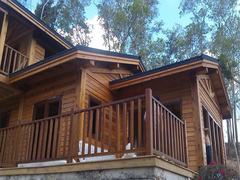 农家乐木屋木房子设计