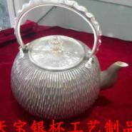 纯银茶具图片