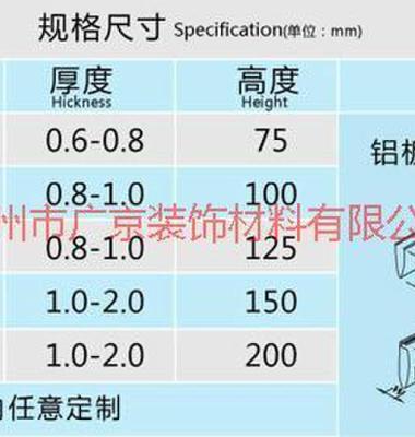 底高100铝方通图片/底高100铝方通样板图 (4)
