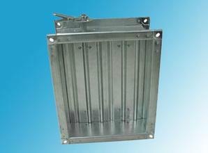 供应镀锌板对开多叶调节阀,电动对开多叶调节阀