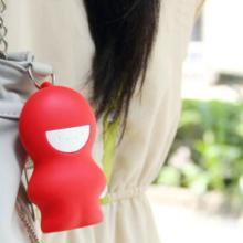 义乌加工可爱卡通公仔硅胶钥匙包娃娃公仔收纳包吊挂钥匙扣批发