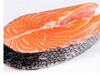 供应用于的智利进口冷冻三文鱼排粗加工批发
