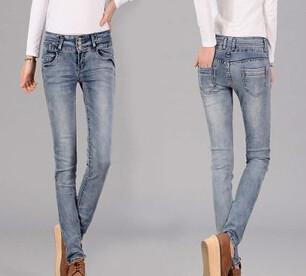 外贸尾单夏季服装牛仔裤便宜批发图片/外贸尾单夏季服装牛仔裤便宜批发样板图 (4)