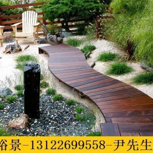 云南柳桉木平台制作图片