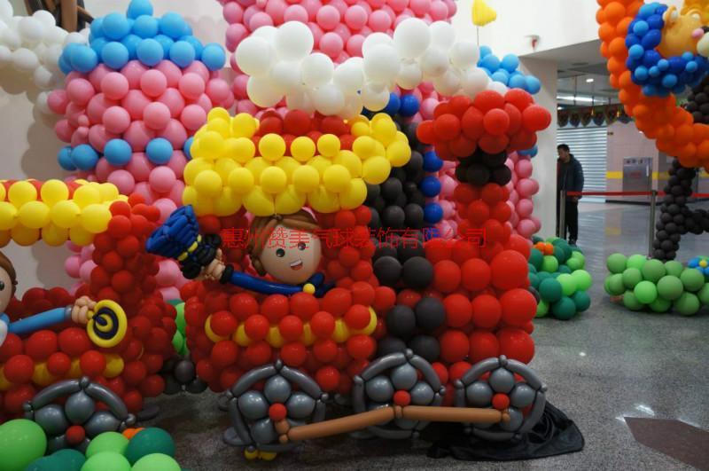 供应江西气球展广东气球装饰端午六一儿童节气球布置展览,最便宜气球布置