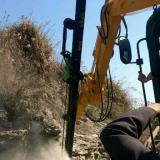 供应挖机改装钻机外挂式挖改液压凿岩机