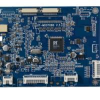 AT102TN03V.8驱动板及其LVDS转接板