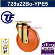 供应TF重型欧式6厘底板全包PU万向脚轮-欧款脚轮价格-全包聚氨酯脚轮
