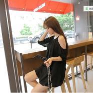 韩版时尚无袖连衣裙图片
