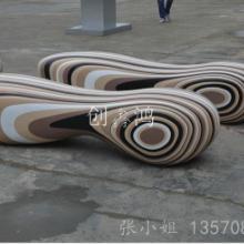 厂家直销各种玻璃钢休闲椅商场美陈创意休闲椅2018新款休闲椅图片