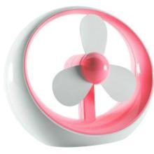 高质USB圆点迷你风扇USB和电池两用礼品风扇居家创意小型电风扇批发