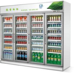 供应便利店四门饮料冰柜多少钱