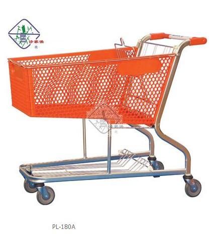 塑料手推车超市塑料手推车耎
