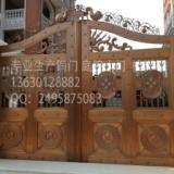 佛山福鑫铜门、别墅铜门、铜扶手上门定制,包安装